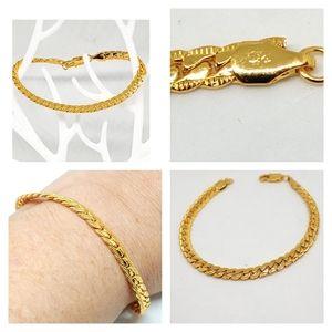 NWOT 18k bracelet